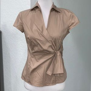 NY&C Taupe Blouse